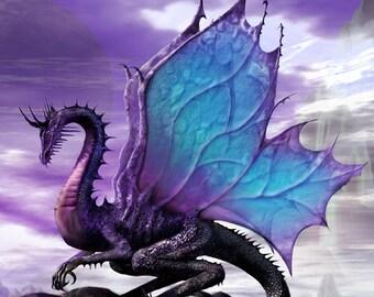 Majestic Dragon Cross Stitch Pattern