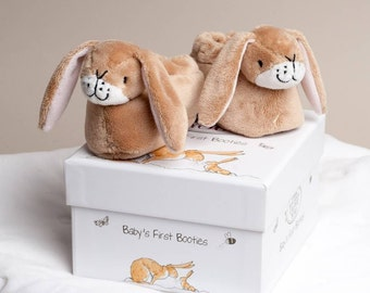 Guess How Much I Love You Baby Bunny Booties
