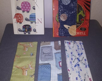 Fabric Bookmarks various styles