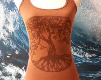 Tree of Life Chakra tank top - Medium