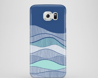 Ocean phone case / Blue phone case / Samsung Galaxy S7, Samsung Galaxy S6, Samsung Galaxy S6 Edge, Samsung Galaxy S5 / sea phone case