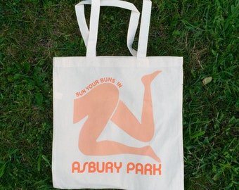 Sun your Buns in Asbury Park Tote Bag