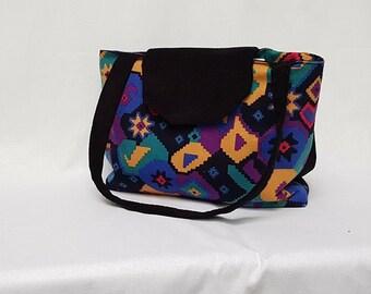 Colourful and stylish handbag