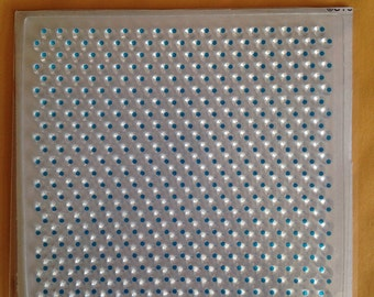Ditzy Dots Clear Acrylic Background Stamp