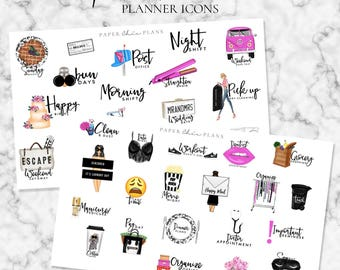 SALE - Functional Planner Stickers | MATTE