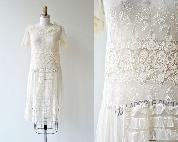 Catherinette dress dress 1920s dress lace antique 20s 6nCTFw4qS