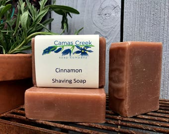 Cinnamon Shaving Soap