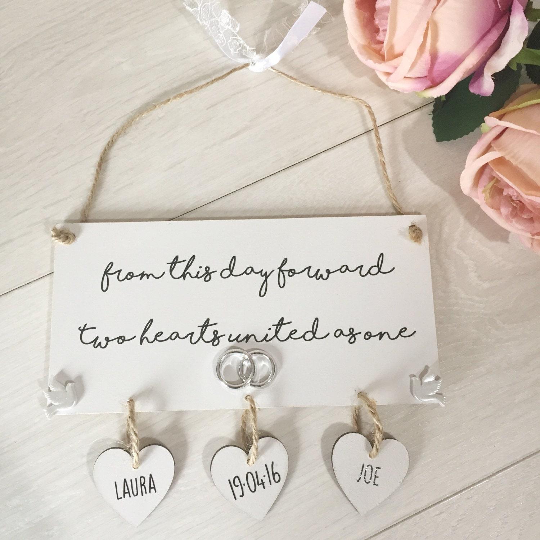 Wedding Gift Wedding Gift Ideas Wedding Plaque Sign Unique
