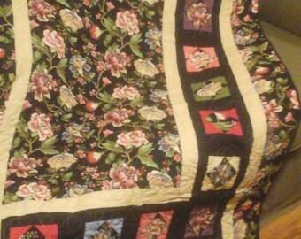 Floral Lap Quilt