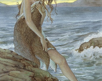 The Selkie 8.5x11 Signed Print