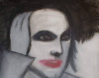 Robert Smith's Portrait In Oil On Canvas