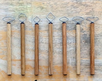 Pottery Handle Tool Set #2
