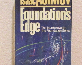 Isaac Asimov FOUNDATION'S EDGE First Edition 1982