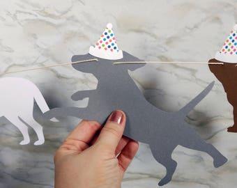Dog Birthday Garland
