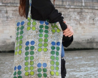 SALE: Reversible Circles Bag