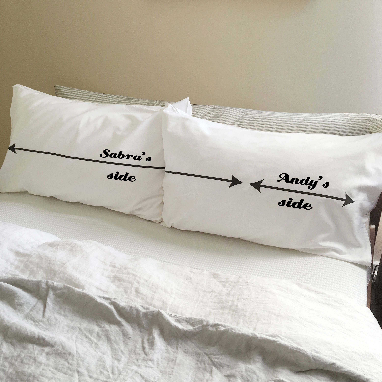ihre seite meine seite lustige paare geschenk. Black Bedroom Furniture Sets. Home Design Ideas