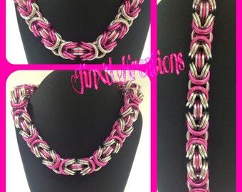 Kinged Byzantine Bracelet