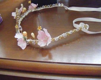 head circlet/ tiara/crown/headdress.