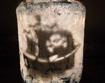 Twinkelaar Pirate ship, fairy in a jar, Story pot, Elf, Night Light, lantern, tough, boys, Sprooke, magic, fairy, lighting,