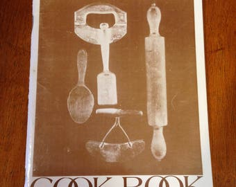CANTERBURY N.H. Cookbook 250th Anniversary Girl Scouts