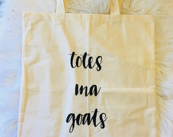 Lightweight Natural Canvas Tote Bag
