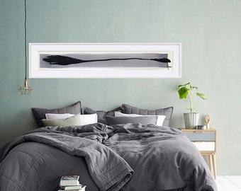 Arrow I- Original abstract ink art painting- zen wall art, ink drawing, minimalist art, arrow, abstract art painting, abstract painting, art