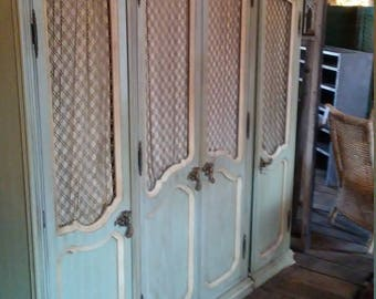 FRENCH STYLE ARMOIRE