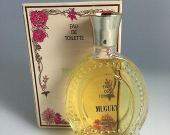 Celeb Ownd Vintage Laboissiere Muguet EDT Eau De Toilette Perfume In Box Ref 50, Vintage Perfume, Muguet Perfume