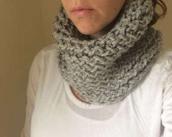 Hand Knit Cowl, Scarf