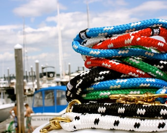 Nautical Dog Leashes - The Fair Lead (Calypso)