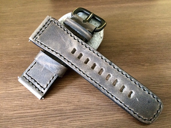 Grade AAA Real Leather watches strap - 28mm/24mm (The strap are fit for all luxury watch in 47mm) - Best Deal and Quality!!