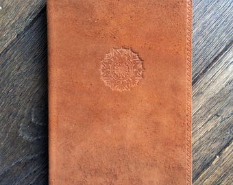 Suede Journal with Lined Pages