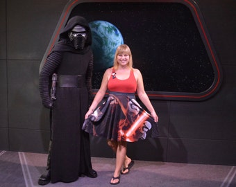 Star Wars skirt inspired by Kylo Ren, Storm Troopers and the Dark Side of the Galaxy!