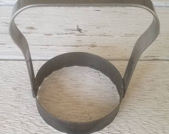 Vintage Round Pastry, Cookie, or Biscuit Cutter