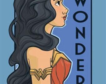 Wonder- She Series Postcard (Item 09-418)