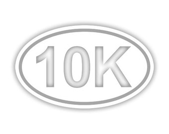 10K Running decal