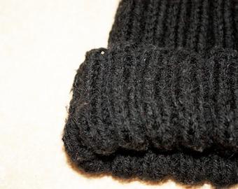 Hand made wool beanie