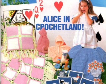 Annie's Crochet Newsletter Sweater Potholders Afghans Hedgehog Stuffed Cat Craft Pattern Leaflet 20