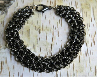 Chainmaille Armband Japanese 12 in 2
