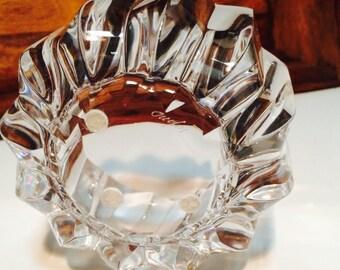 Orrefors Bowl, Princess Bowl, Signed Crystal Orrefors Dish