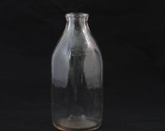 Milk Bottle Meadow Gold Dairy 1/2 Gallon Vintage Milk Bottle