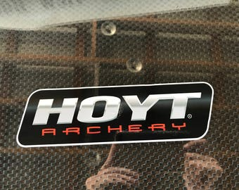 Hoyt Archery Vinyl Decal (0098)