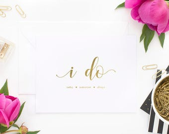 To my wife on our wedding day card rose gold foil to my wife to my husband on our wedding day to my husband to my groom wedding day card wedding card to my wife on our wedding day to my wife junglespirit Choice Image