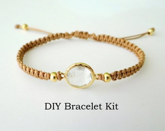 DIY Bracelet Kit - Macrame Tutorial