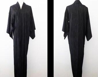 Vintage kimono - Single IKAT, Unlined