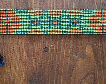 Native woman adjustable traditional Aboriginal pearl bracelet