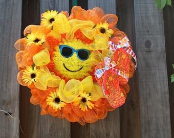 Sunshine Summer Wreath