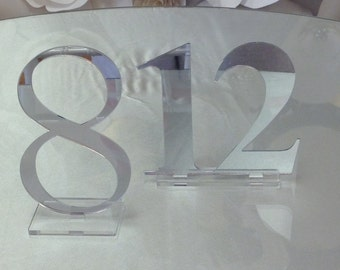 Acrylic Table Numbers (Double Digit)