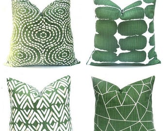 15% Off Sale Euro Shams, Euro Pillows, Euro Pillow Covers, Euro Sham, Euro Pillow Case, Green Pillow Covers, Green Pillows, Euro Pillow sham