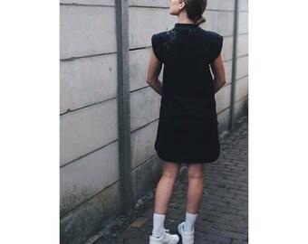 Dress made of softshell